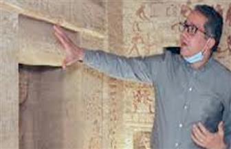 """""""السياحة والآثار"""" تختار مقبرة الكاهن المطهر """"واحتي"""" رمزا للاحتفال بيوم التراث العالمي   فيديو"""
