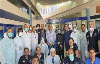 محافظ البحر الأحمر: 323 مواطنا يغادرون الحجر الصحي بمرسى علم غدا |صور