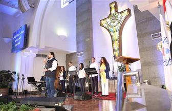 الكنيسة الإنجيلية تحتفل بعيد القيامة |صور