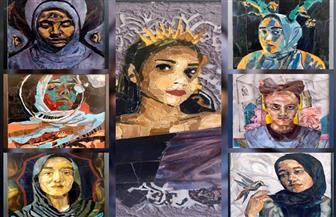 طلاب الفنون الجميلة بجامعة حلوان يقدمون مشاريع مادة التصوير | صور