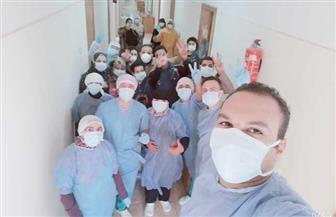خروج 25 متعافيا من كورونا من حجر تمى الأمديد وأماكن العزل بالمدينة الجامعية في المنصورة