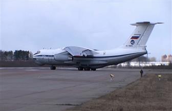 طائرة روسية تحمل مساعدات طبية تهبط في نيويورك