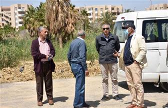 مساعد نائب رئيس المجتمعات العمرانية ورئيس جهاز القاهرة الجديدة يتفقدان المناطق الحيوية بالتجمع الثالث