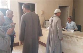 رؤساء الوحدات المحلية يتفقدون أماكن صرف المعاشات بسوهاج