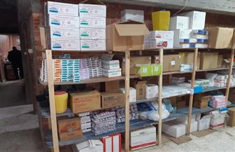 ضبط 560 ألف عبوة مستلزمات طبية داخل مخزن غير مرخص شرقي الإسكندرية|صور