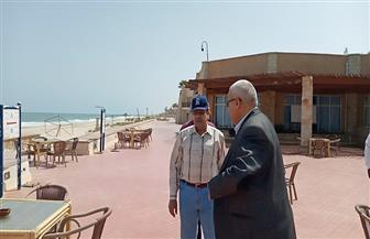 محافظ شمال سيناء يتفقد الشواطئ والمتنزهات خلال شم النسيم | صور