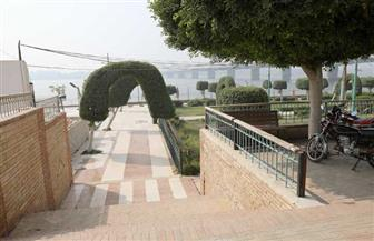 غلق الحدائق والكورنيش ومواقف السيارات في بني سويف | صور