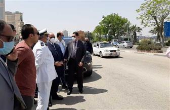 محافظ القاهرة يتأكد من خلو كورنيش النيل من المواطنين في شم النسيم | صور