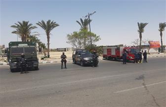 مديرية أمن السويس تغلق الكورنيش في شم النسيم