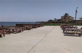 شواطئ وحدائق وأندية خالية لأول مرة في عيد شم النسيم بالفيوم|صور