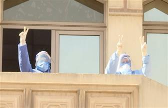 """""""المتحدة"""" تحتفل بشم النسيم وتشيع البهجة حول مستشفيات العزل"""