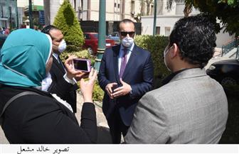 إجراءات وقائية بمجلس النواب قبل انطلاق الجلسات العامة   صور