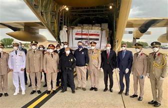 بسام راضي: وصول شحنة المساعدات الطبية المصرية إلى الولايات المتحدة الأمريكية| صور وفيديو