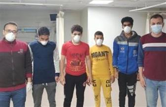 """""""صحة الغربية"""": خروج 4 حالات مصابة بـ""""كورونا"""" من العزل بعد تماثلهم للشفاء"""