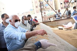 محافـظ بورسعيد يتفقد المطحن الرئيسي لمتابعة توريد القمح | صور