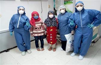 الفريق الطبي بمستشفى الحجر بكفر الدوار يوزع هدايا على الأطفال المحجوزين| صور
