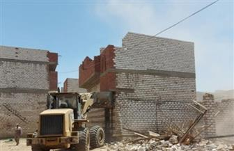 إزالة تعديات على 2400 متر من أملاك الدولة في حيي فيصل والأربعين بالسويس