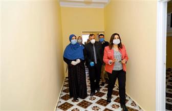 محافظ دمياط: إعادة إعمار 25 منزلا بمركز فارسكور | صور