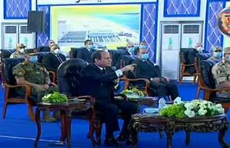 الرئيس السيسي: لن نسمح بإقامة أحواض سمكية في بحيرة المنزلة