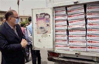 محافظ أسيوط يشهد انطلاق قافلة صندوق تحيا مصر لمساعدات العمالة غير المنتظمة | صور