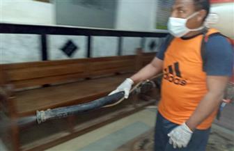 عزل عقارين بالأقصر بعد التأكد من إصابة مواطنين بفيروس كورونا بهما| صور