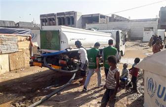البرنامج السعودي لتنمية وإعمار اليمن يسهم في إغاثة عدن من الأمطار والسيول