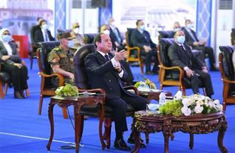الرئيس السيسي: بعد عودة سيناء انتهى تحدي تحريرها وبدأ تحدي تعميرها