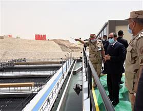 المتحدث الرئاسي ينشر صورا لافتتاح الرئيس السيسي لعدد من المشروعات القومية بشرق القناة| صور
