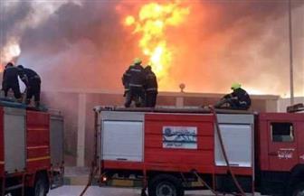 السيطرة على حريق داخل مخزن زيوت بشارع البحر الأعظم