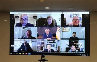 """الفولي يحضر اجتماع الاتحاد العالمي للتايكوندو من خلال """"فيديو كونفرس"""""""