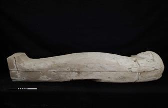 اكتشاف تابوت خشبي من الأسرة السابعة عشر بمنطقة ذراع أبو النجا في الأقصر|صور