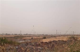 عواصف ترابية ورياح محملة بالأتربة تجتاح الوادي الجديد