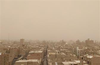 عاصفة ترابية تجتاح مدن وقرى سوهاج