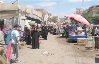 فض سوق السبت بقرية دهشور بالبدرشين | صور