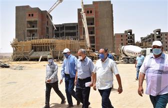 رئيس جامعة سوهاج يتابع نسب تنفيذ المشروعات الإنشائية بالحرم الجامعي الجديد | صور