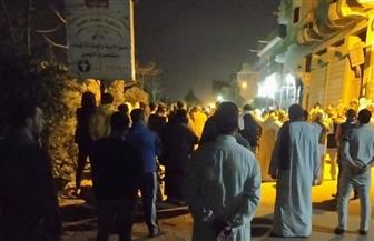 تشييع جنازة ثاني ضحايا فيروس كورونا بكفرالشيخ بمقابر منطقة ميت علوان