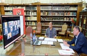 مجلس الأهلي يستكمل اجتماعه الإثنين بنظام الفيديو كونفرانس