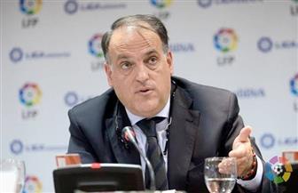"""رئيس رابطة """"الليجا الإسبانية"""" يحذر الأندية: من يرفض اللعب سيعاقب"""