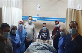خروج 4 حالات من مستشفى العزل بإسنا جنوب الأقصر بعد تعافيهم من كورونا |صور
