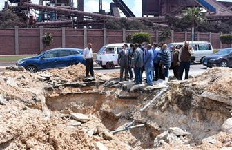 بعد كسر خط الـ 700..محافظ الإسكندرية يعلن موعد عودة المياه لحي العجمي   صور