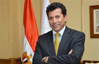 وزير الرياضة يتفقد أعمال تطوير منشآت نادي الزهور بمدينة نصر