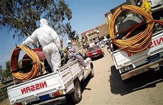 استمرار حملات التعقيم والتطهير بقريتي الزعفران وكفر العجمي المعزولتين بكفر الشيخ | صور