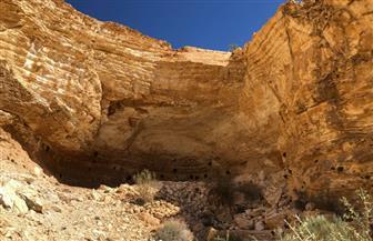 """""""السياحة والآثار"""" تنجح في الكشف عن كهف أثري جديد بشمال سيناء   صور"""