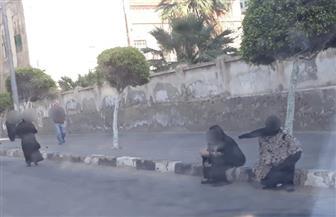 محافظ بورسعيد يوجه بشن حملات لضبط المتسولين من شوارع المدينة | صور