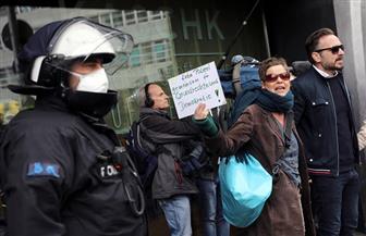 مئات الأشخاص يحتجون في برلين وشتوتجارت على فقدان الحقوق وسط جائحة كورونا