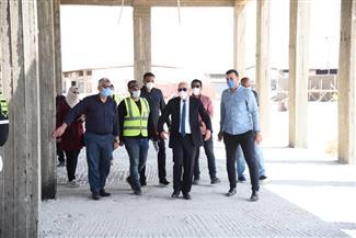 محافظ بورسعيد يتفقد المشروعات التنموية.. ويؤكد استمرار عجلة الإنتاج| صور