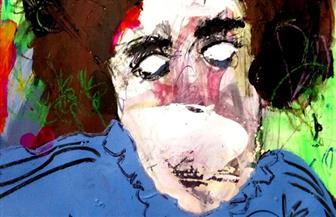 التشكيلي هيثم عبد الحفيظ: أرسم في عالم تسيطر عليه حالة من الغموض والغيبيات | صور