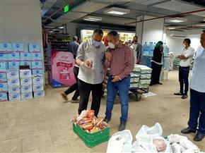 حملة تموينية بقيادة نائب محافظ أسيوط لضبط الأسعار بالأسواق| صور
