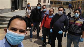 """الفريق الثالث لـ""""طب المنصورة"""" يتوجه لمستشفى عزل """"تمى الأمديد"""" لمواجهة كورونا"""