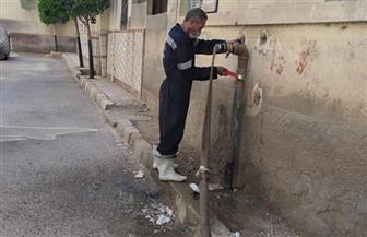 مياه أسيوط: غسيل 300 شبكة مياه و270  خزانا شهريا بأسيوط